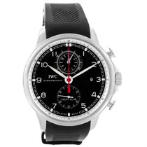 IWC Portuguese Yacht Club Chronograph Steel 45.4mm Black Arabic numerals United States of America, Georgia, Atlanta