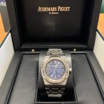 Audemars Piguet Royal Oak Jumbo Titanium 39mm Blue No numerals