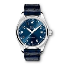 IWC Pilot's Watch Automatic 36 Сталь 36mm Синий