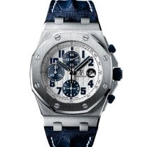 Audemars Piguet Royal Oak Offshore Chronograph Acier 42mm Blanc Arabes France, Paris