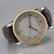 Chronoswiss Kairos Gold/Steel 38mm Silver Arabic numerals