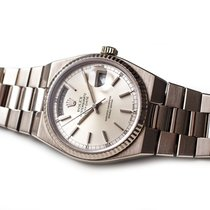 Rolex Day-Date Oysterquartz Or blanc 36mm Argent France, Paris/France/Europe