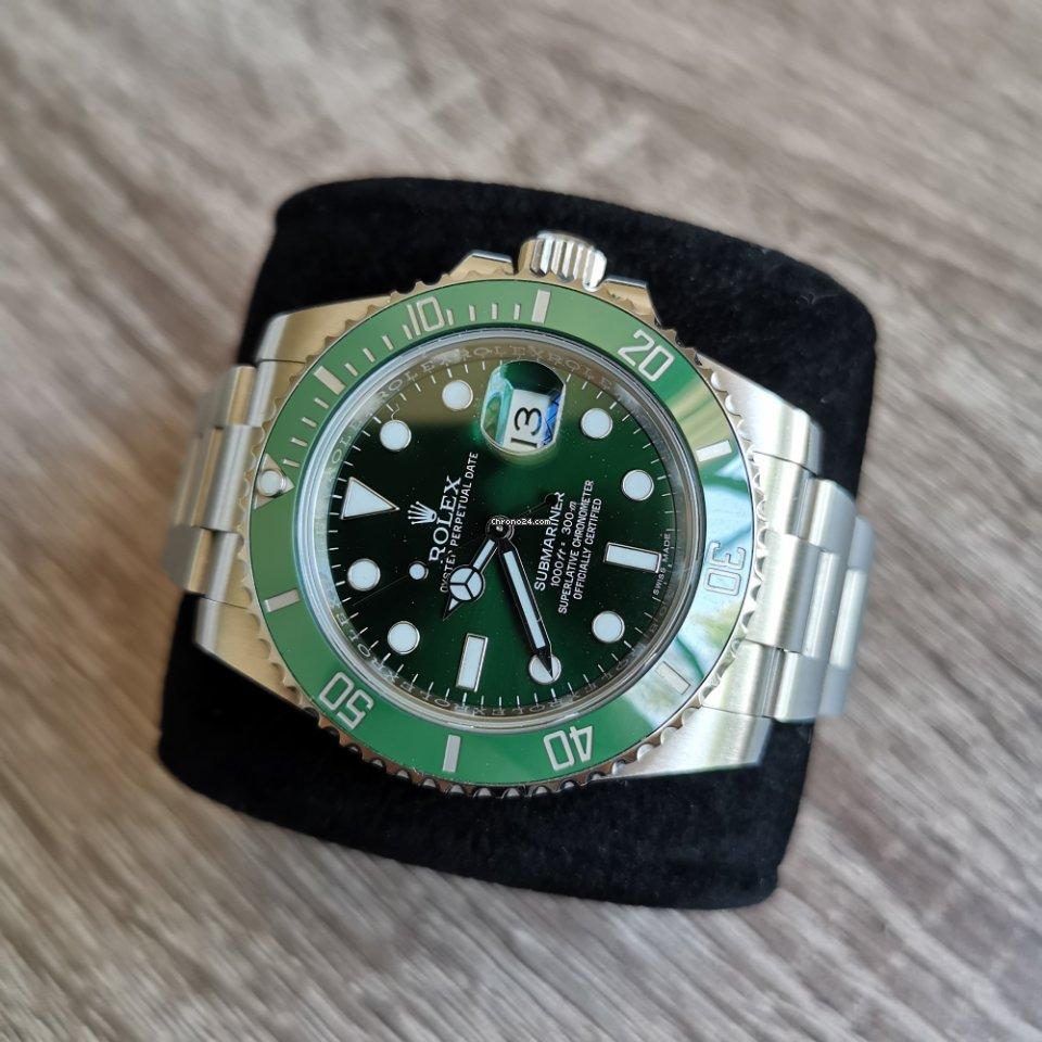 Rolex Hulk All Prices For Rolex Hulk Watches On Chrono24