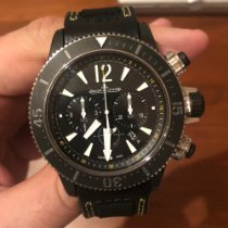 Jaeger-LeCoultre Master Compressor Diving Chronograph GMT Navy SEALs Titán 46mm Fekete