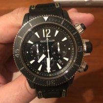 Jaeger-LeCoultre Master Compressor Diving Chronograph GMT Navy SEALs Titanium 46mm Black