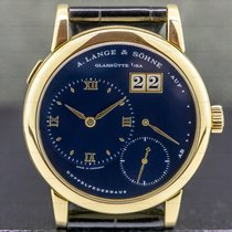 A. Lange & Söhne Yellow gold Manual winding Roman numerals 38.5mm pre-owned Lange 1