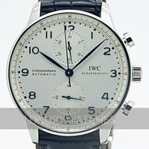 IWC Portuguese Chronograph Steel 41mm White