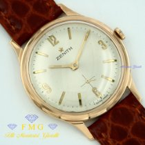 Zenith Star Very good Rose gold 34mm Manual winding