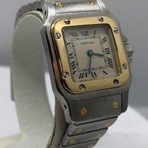 Cartier Goud/Staal 24mm Quartz 1057930 tweedehands Nederland, Amsterdam