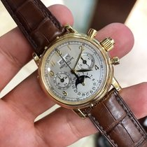 Patek Philippe Perpetual Calendar Chronograph Yellow gold 37mmmm United States of America, New York, New York