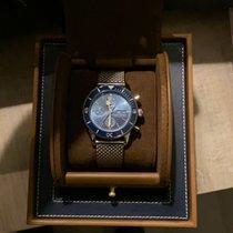 Breitling Superocean Héritage II Chronographe A13313161C1A1 Muito bom Aço 44mm Automático