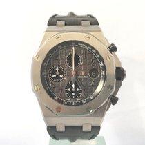 Audemars Piguet Royal Oak Offshore Chronograph Steel 42mm Grey Arabic numerals