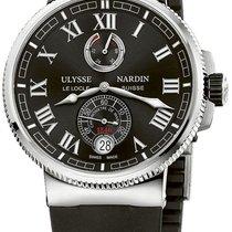 Ulysse Nardin Marine Chronometer Manufacture Titanium Black United States of America, New York, Brooklyn
