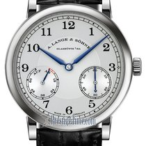 A. Lange & Söhne White gold Manual winding Silver 39mm new 1815