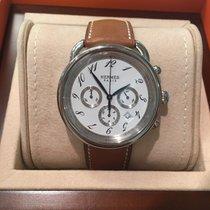 Hermès Arceau chronograph watch