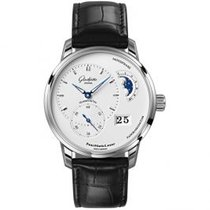 Glashütte Original PanoMaticLunar Steel 40mm Silver United States of America, Pennsylvania, Holland