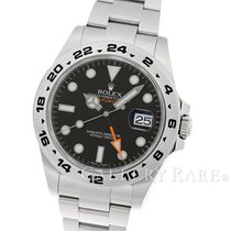 Rolex Explorer II Black Dial Stainless Steel 42MM