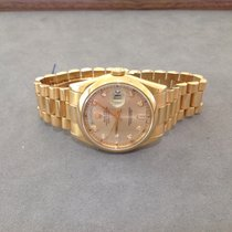 Rolex Day-Date 36 18ct Rose Gold Diamond Dial
