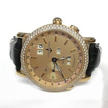Ulysse Nardin GMT +/- Perpetual Red gold 40mm Champagne No numerals