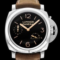 Panerai Luminor 1950 3 Days Power Reserve Steel 47mm Black United States of America, California, San Mateo
