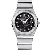 Omega Constellation Quartz 123.10.27.60.51.001 2020 новые