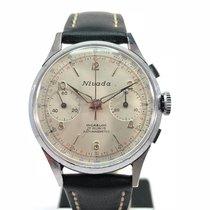Nivada vintage chronograph Landeron 248
