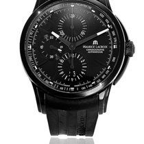 Maurice Lacroix Chronograph Automatic 2012 pre-owned Pontos Chronographe Black