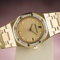 Audemars Piguet ROYAL OAK LADY DAMEN YELLOW GOLD DIAMONDS LADIES
