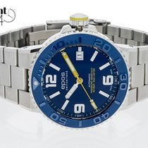 Epos Sportive Çelik 43mm Mavi Arapça