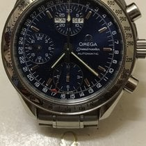 Omega Speedmaster Day Date Steel 39mm Blue No numerals Australia, Hampton