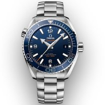 Omega Seamaster Planet Ocean Steel 43.5mm Blue Arabic numerals United States of America, Georgia, Alpharetta