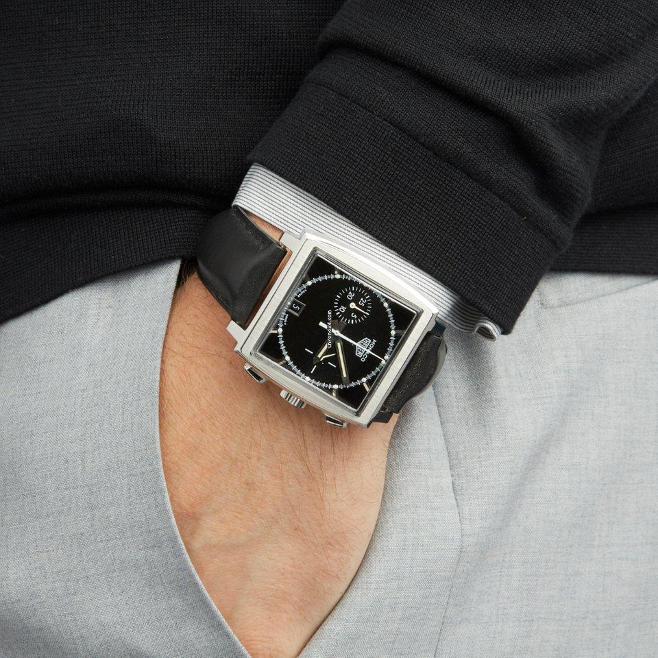 TAG Heuer Monaco Chronograph Roestvrij Staal CS2110 - COM1721