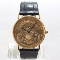 Corum Gelbgold 36mm Handaufzug Coin Watch gebraucht Österreich, Innsbruck