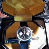 Bulova Chronograph 666 Panda Diving Watch VALJOUX 7733 Box