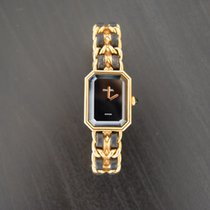 Chanel 20mm Quarz 1996 gebraucht Première Schwarz