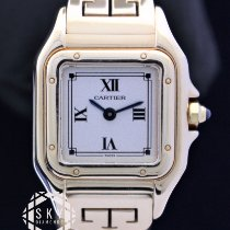 Cartier Panthère Yellow gold 22mm Roman numerals United States of America, New York, NEW YORK