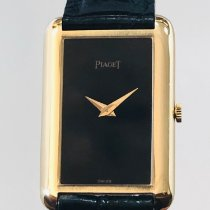 Piaget pre-owned Manual winding 23mm Black Sapphire crystal Not water resistant