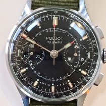 Poljot Steel 39mm Manual winding pre-owned