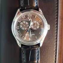 Patek Philippe Annual Calendar Platinum 37mm Grey Roman numerals Singapore, 259959