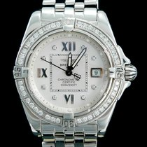 Breitling Cockpit Lady Acero 32mm Blanco Romanos