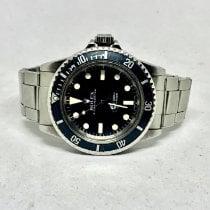 Rolex Submariner (No Date) Сталь 40mm Чёрный Без цифр