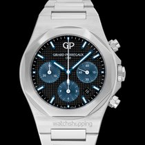 Girard Perregaux Steel Automatic new Laureato