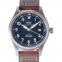 IWC Pilot Mark Steel 40mm Blue Arabic numerals UAE, Dubai