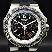 Breitling Bentley B04 GMT Titanio 45mm Negro Sin cifras