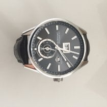 TAG Heuer Silver Automatic Grey 41mm pre-owned Carrera Calibre 8