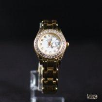 Rolex Lady-Datejust Pearlmaster Geelgoud 29mm Wit Geen cijfers Nederland, Rijswijk