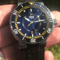 Oris Aquis Steel 46mm Blue United States of America, Florida, Pompano Beach