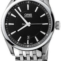 Oris Artix Date Steel 42mm Black No numerals United States of America, New Jersey, Edgewater
