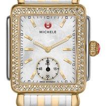 Michele Gelbgold 29mm Quarz MWW06V000023 neu