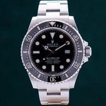 Rolex Sea-Dweller 4000 rabljen 40mm Crn Datum, nadnevak Zeljezo